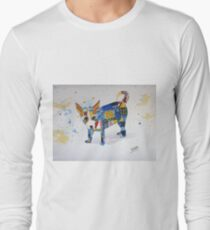The Patchwork Dog Long Sleeve T-Shirt
