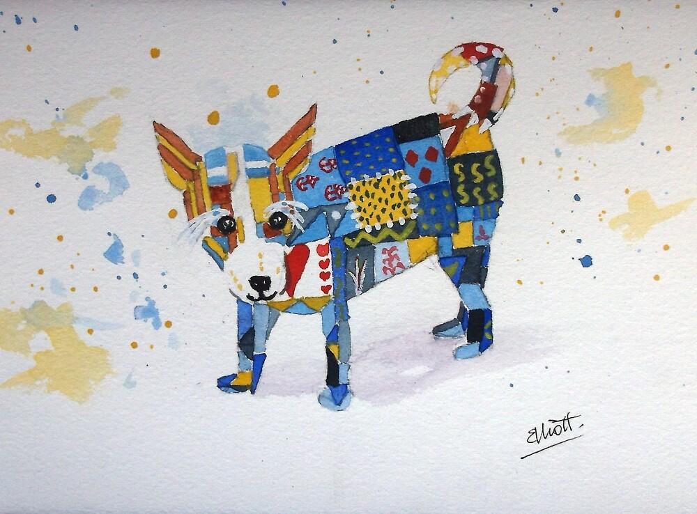 The Patchwork Dog by Pat  Elliott