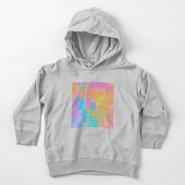 Abstract musician Toddler Pullover Hoodie
