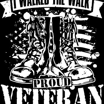 Proud Veteran by preteeshirts