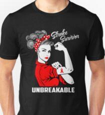 Stroke Survivor Unbreakable - Awareness  Unisex T-Shirt
