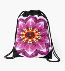 Orchid Manipulation Drawstring Bag