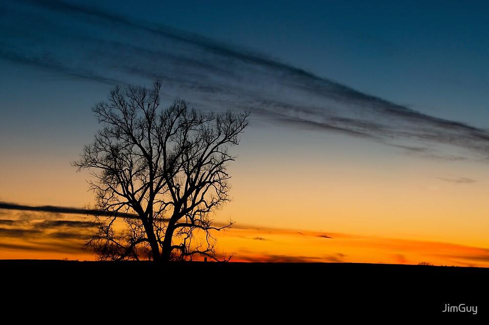 Dakota Sunset by JimGuy