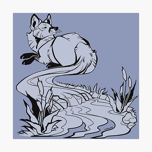 Foxtail River Photographic Print
