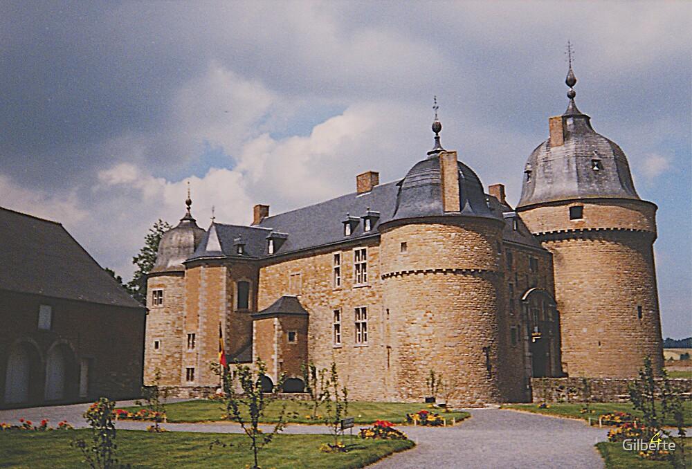 Castle Lavaux Ste Anne  by Gilberte