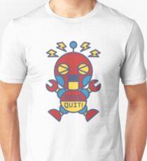 """Rage quit!"" classic robot Unisex T-Shirt"