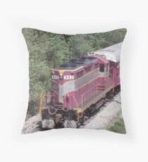Waccamaw Coast Line Throw Pillow