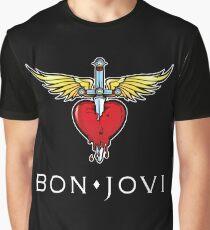 bon jovi tour 2018 mandir logo Graphic T-Shirt