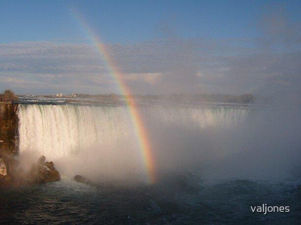 evening time at Niagara Falls by valjones