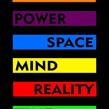 Soul, power, space, mind, reality, time by naomially