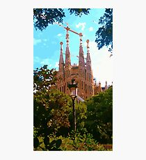 Barcelona! Photographic Print