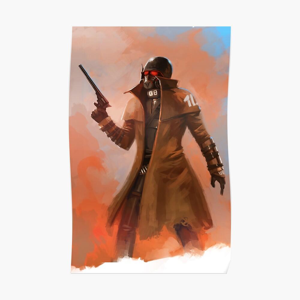 Fallout NCR Ranger Fan Kunst Poster Poster