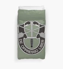 Special Forces - insignia (United States Army) Duvet Cover