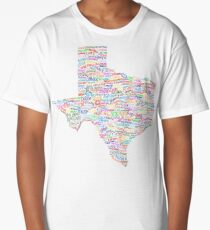 Where Y'all From? Long T-Shirt