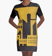 Golden city art deco Graphic T-Shirt Dress