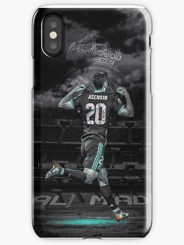 Vinilos y fundas para iPhone «Marco Asensio | Real Madrid» de ...