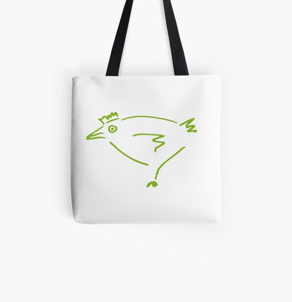 The Secret Chicken All Over Print Tote Bag
