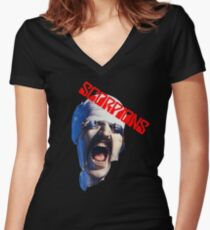 Scorpions  Women's Fitted V-Neck T-Shirt