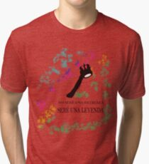 FREDDIE MERCURY QUEEN FRASE LEYENDA Camiseta de tejido mixto