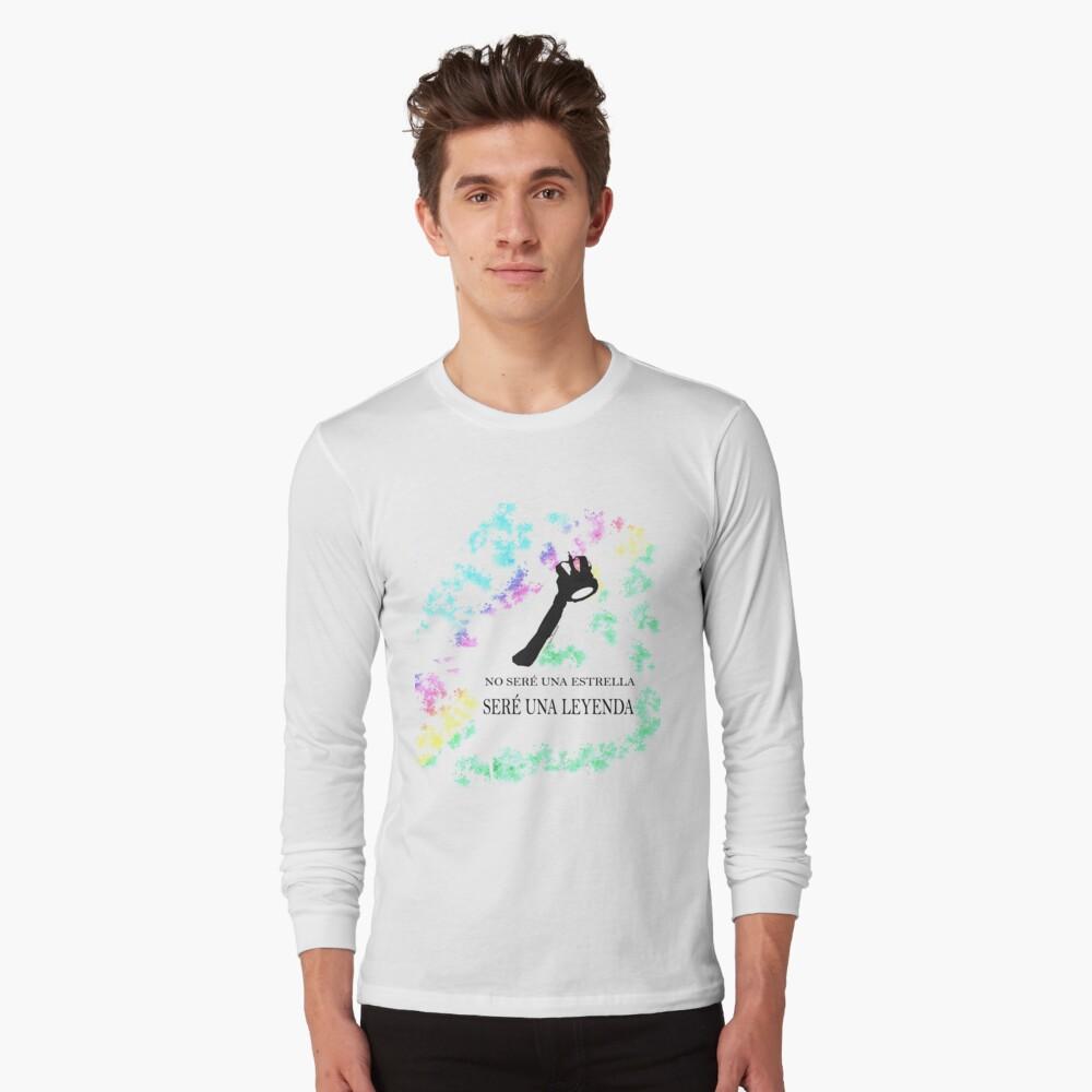 FREDDIE MERCURY QUEEN FRASE LEYENDA Camiseta de manga larga