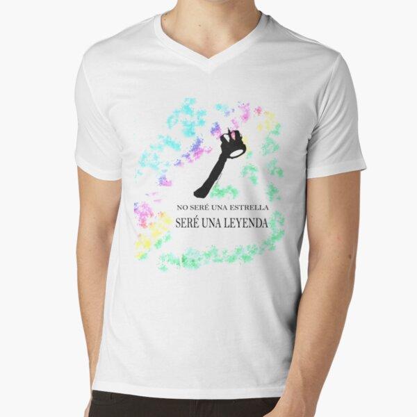 FREDDIE MERCURY QUEEN FRASE LEYENDA Camiseta de cuello en V