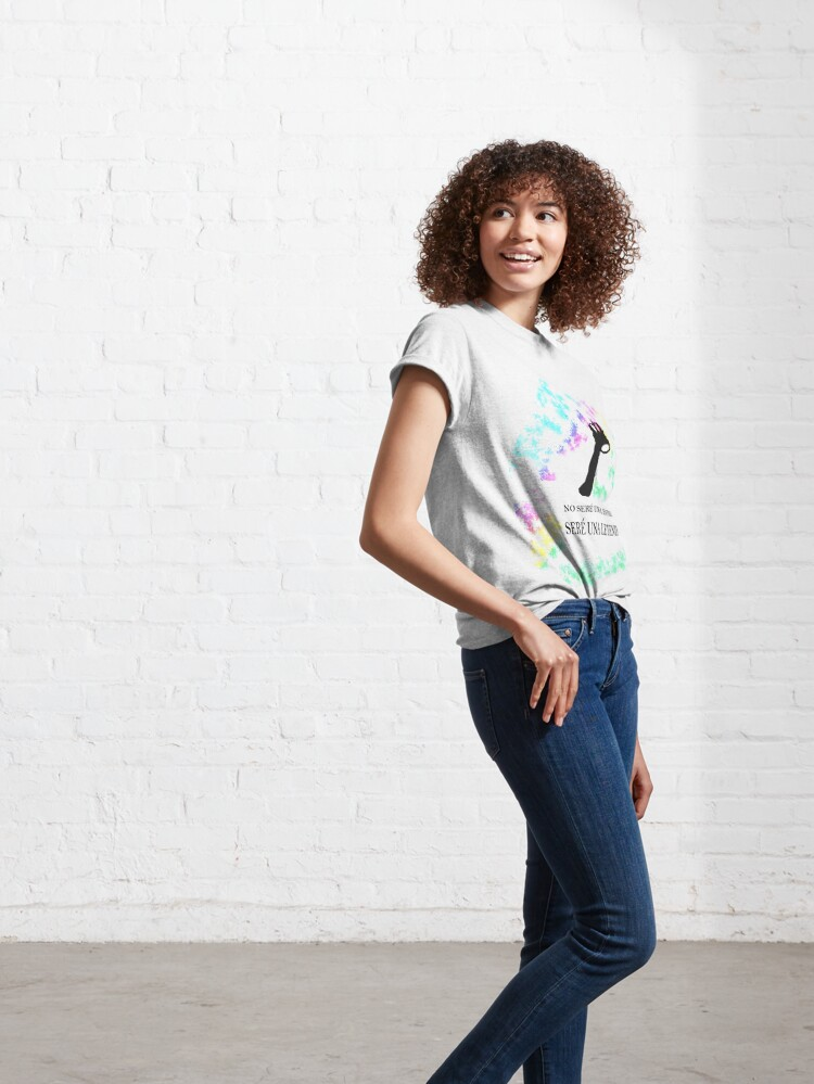 Vista alternativa de Camiseta clásica FREDDIE MERCURY QUEEN FRASE LEYENDA