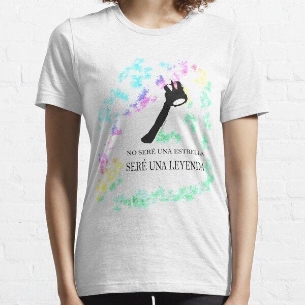 FREDDIE MERCURY QUEEN FRASE LEYENDA Camiseta esencial