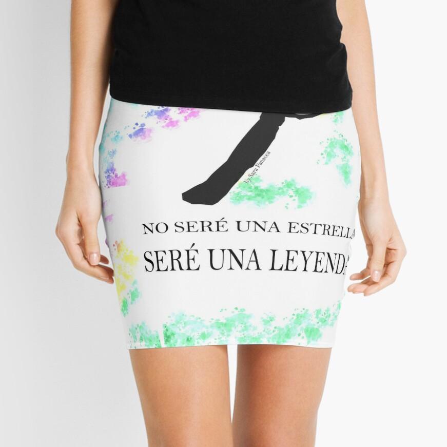 FREDDIE MERCURY QUEEN FRASE LEYENDA Minifalda