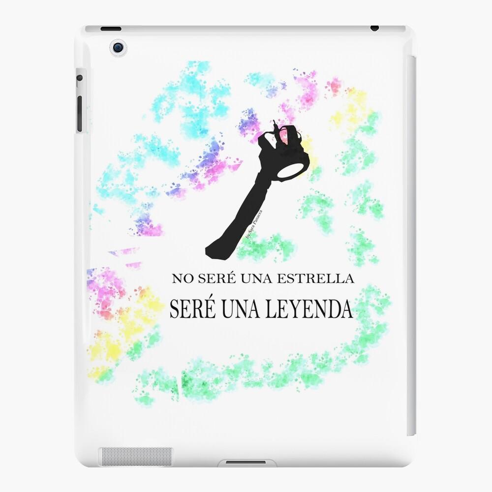 FREDDIE MERCURY QUEEN FRASE LEYENDA Funda y vinilo para iPad