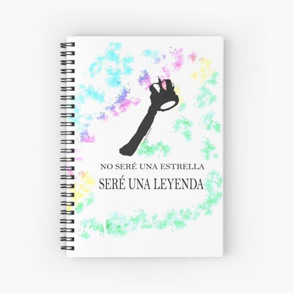 FREDDIE MERCURY QUEEN FRASE LEYENDA Cuaderno de espiral