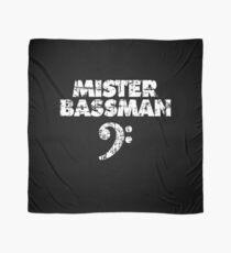 MISTER BASSMAN Vintage White Scarf