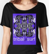 tribal surf butterfly effect Women's Relaxed Fit T-Shirt
