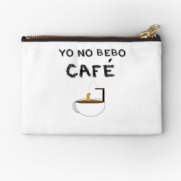YO NO BEBO CAFÉ ME BAÑO EN ÉL Bolsos de mano