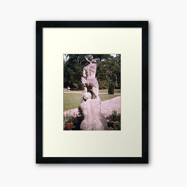 Famous or Infamous Framed Art Print