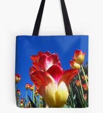 It's A Tulip Sky Tote Bag