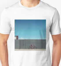 The red bike doesn't exist Unisex T-Shirt