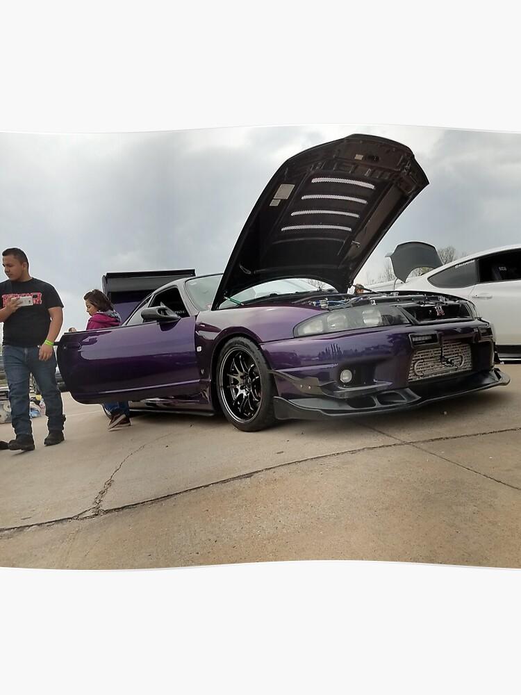 R33 Nissan Skyline GTR | Poster