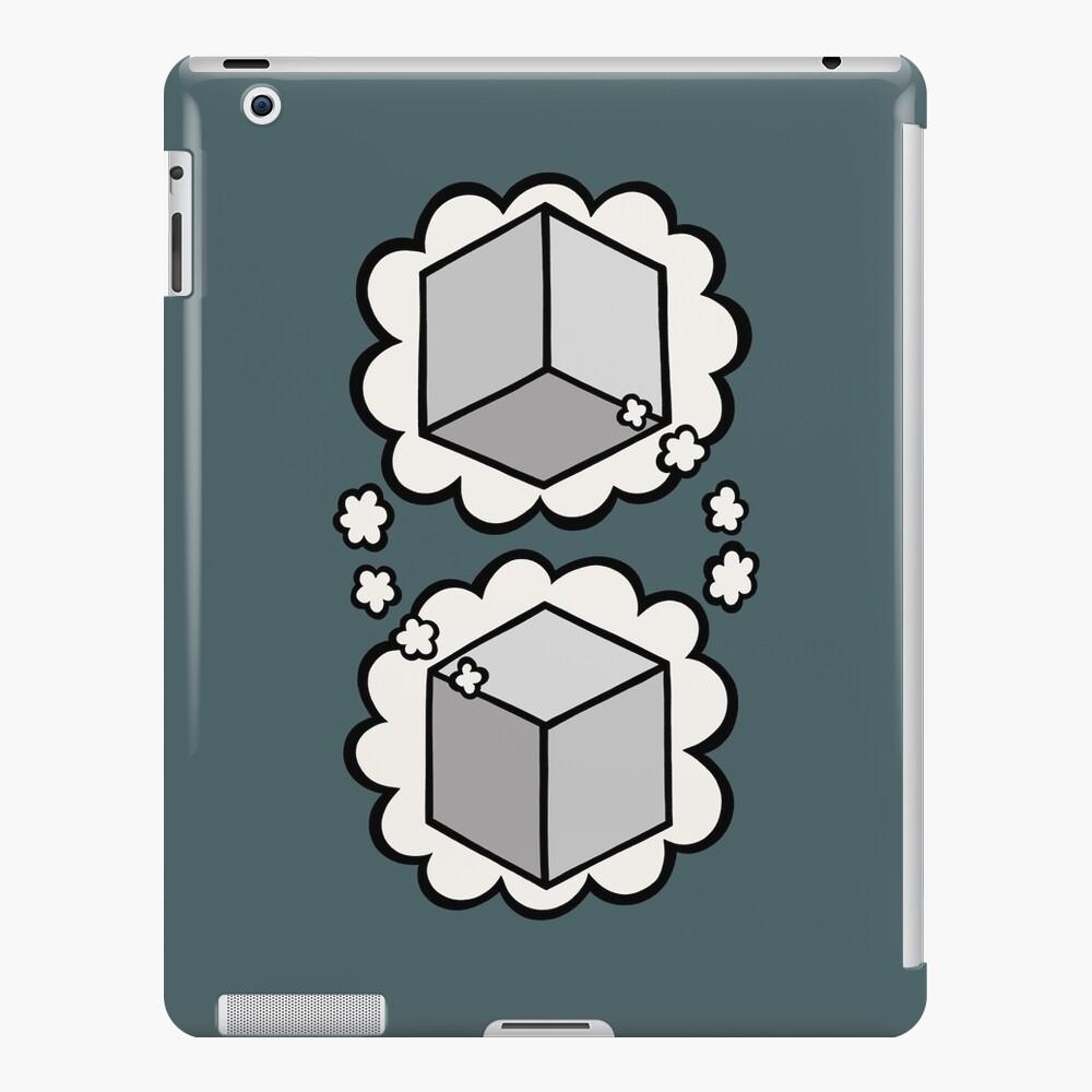 Think box think iPad Case & Skin