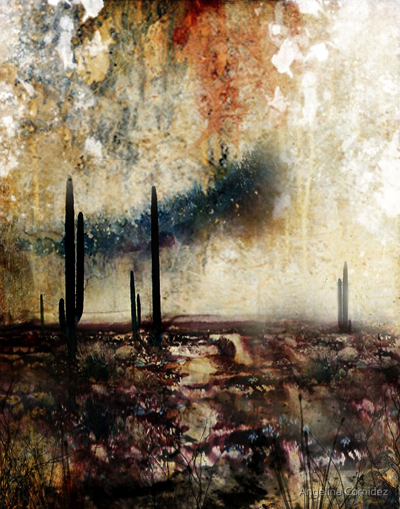 Abstract Desert 6 by Angelina Cornidez