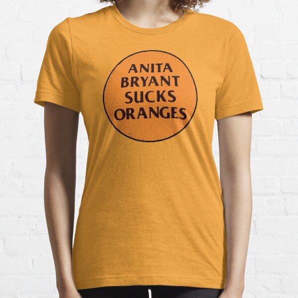 Retro 1977 LGBT+ Protest Slogan: Anita Sucks Essential T-Shirt