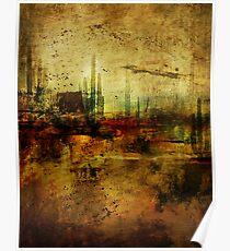 Abstract Desert 8 Poster