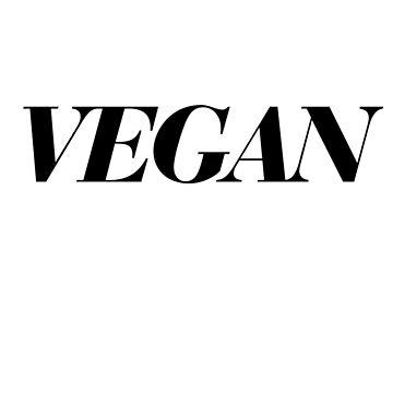 Vegan by nicgfx