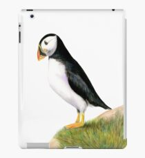 Puffin Bird Watercolor Painting Wildlife Artwork iPad Case/Skin