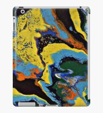 CR Art Studio, Abstract Expressionism Painting, Infusion-2 iPad Case/Skin