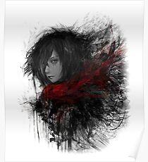 Mikasa Ackerman Posters Redbubble