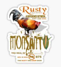 just ask rusty Sticker