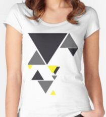 TRIOMATE Women's Fitted Scoop T-Shirt
