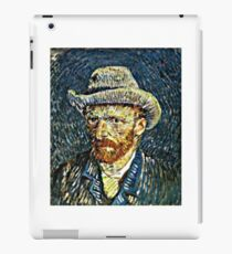 Vincent Van Gogh Self Portrait in Felt Hat Artwork iPad Case/Skin
