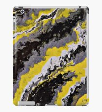 CR Art Studio, Abstract Expressionism Painting, Overcast-2 iPad Case/Skin