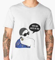 Who gon' check me boo? Men's Premium T-Shirt